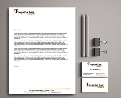 Teogatha Law Corporate Identity